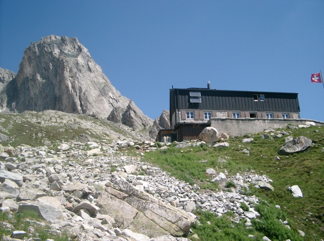Klettersteig Fruttstägä : Historischer klettersteig pinut